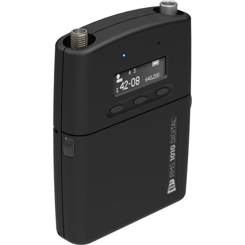 Audio Ltd. TX1010 Digital Belt Pack Transmitter for DX1010 Digital Receiver (3-Pin LEMO, Frequency Range A, 470 - 548 MHz)