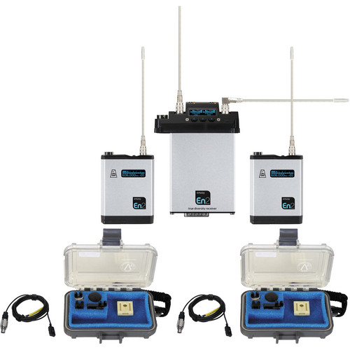 Audio Ltd. TXPH Transmitter (512 to 542MHz) and CX2/S Receiver Set (512 to 572MHz)