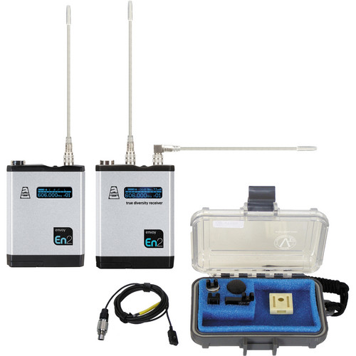 Audio Ltd. TXPH Transmitter and DX Receiver System with VT500 Mic (614 to 654 MHz)