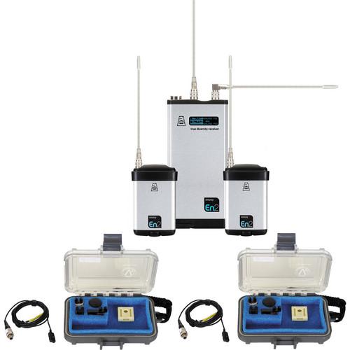 Audio Ltd. Dual miniTX & DX2 System Set (542 to 572MHz)