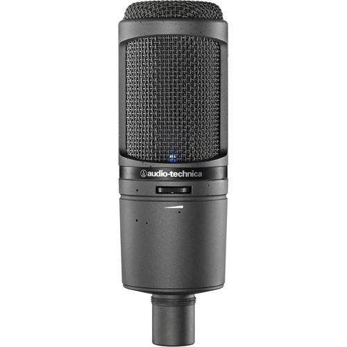 Audio-Technica AT2020USBi USB Microphone & SMH-1200 Headphones Kit (Burgundy)