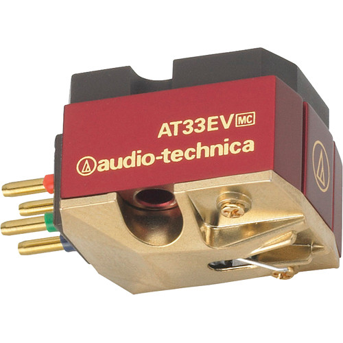 Audio-Technica Consumer AT33EV Dual Moving Coil Cartridge