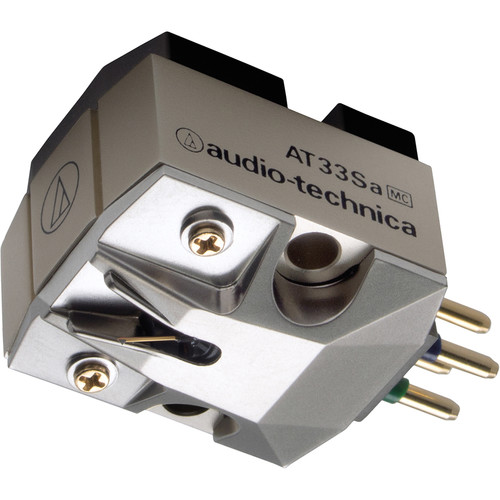 Audio-Technica Consumer Dual Moving Coil Cartridge with Shibata Stylus