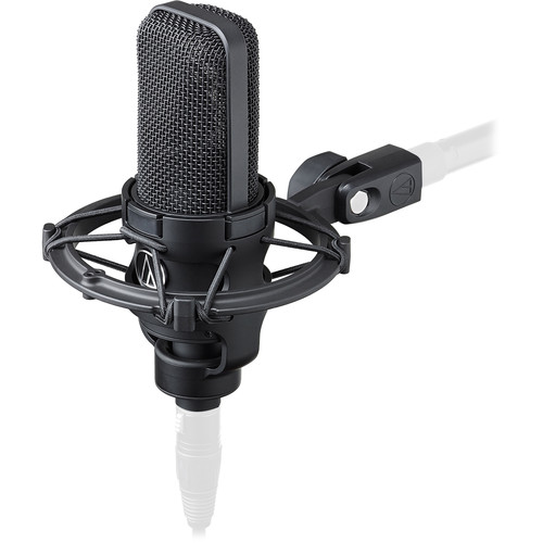 Audio-Technica AT4040 Condenser Microphone with Preamp & Cable Kit