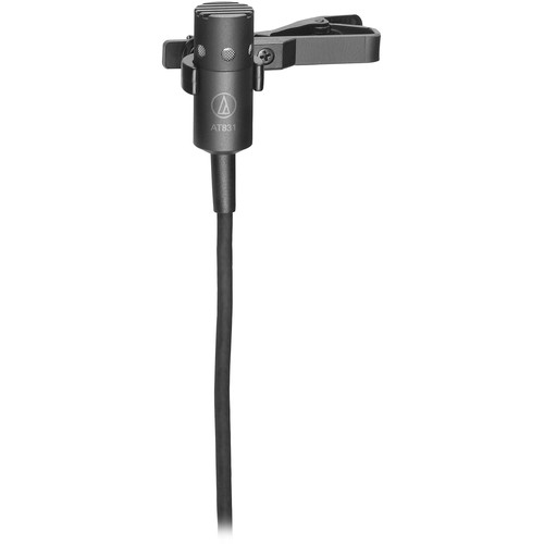 Audio-Technica AT831cH Cardioid Condenser Lavalier Microphone