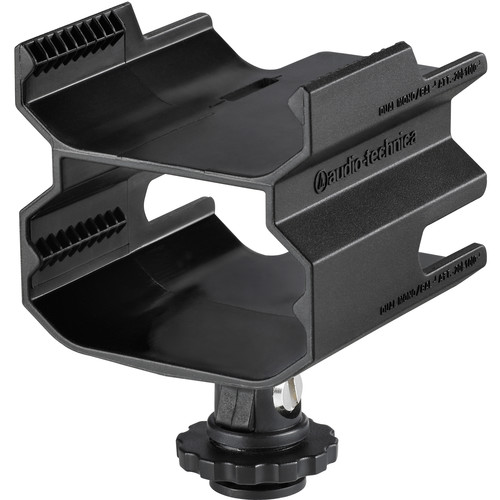 Audio-Technica AT8691 Camera Shoe Dual Mount for ATW-R1700 Digital Wireless Receiver