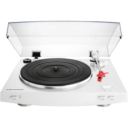 Audio-Technica Consumer AT-LP3 Stereo Turntable (White)