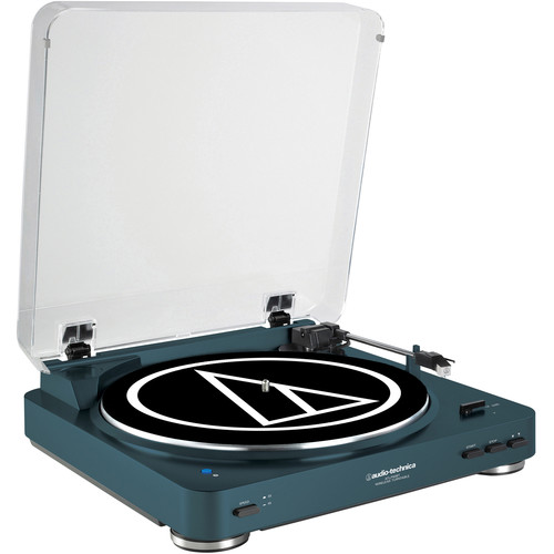 Audio-Technica Consumer AT-LP60NV-BT Turntable with Bluetooth (Navy)
