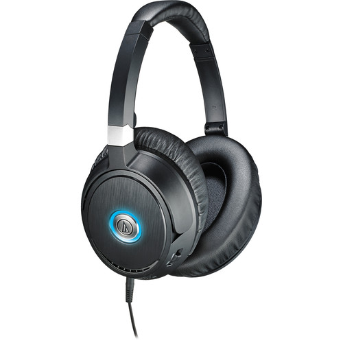 Audio-Technica Consumer ATH-ANC70 QuietPoint Active Noise-Cancelling Closed-Back Headphones