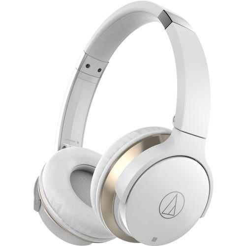 Audio-Technica Consumer SonicFuel Wireless On-Ear Headphones (White)