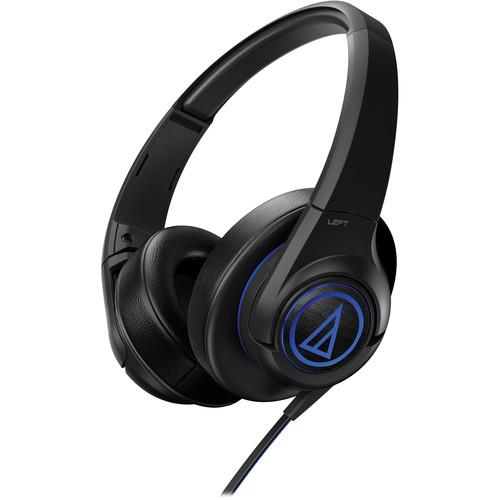 Audio-Technica Consumer SonicFuel ATH-AX5 Over-Ear Headphones (Black)