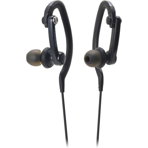 Audio-Technica Consumer ATH-CKP200 SonicSport In-Ear Headphones (Black)