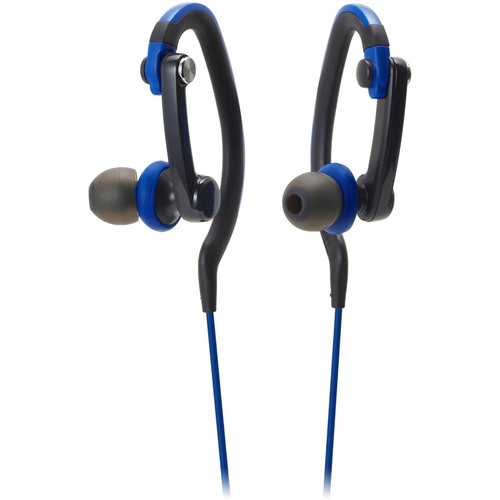 Audio-Technica Consumer ATH-CKP200 SonicSport In-Ear Headphones (Blue)