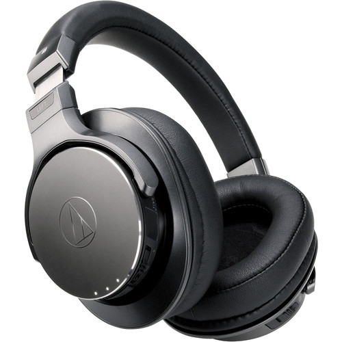 Audio-Technica Consumer Wireless Over-Ear Headphones with Pure Digital Drive