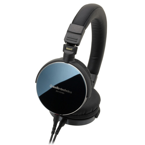 Audio-Technica ATH-ES770H Audiophile On-Ear Headphones (Blue Mirrored)