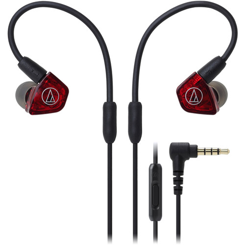 Audio-Technica Consumer ATH-LS200iS Live Sound In-Ear Headphones