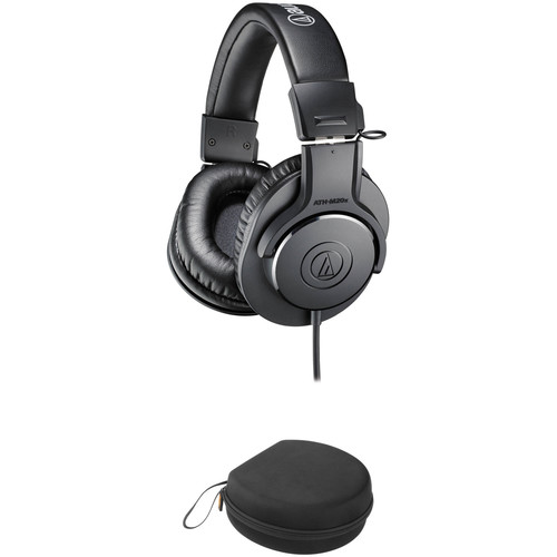 Audio-Technica ATH-M20x Headphones and Case Kit
