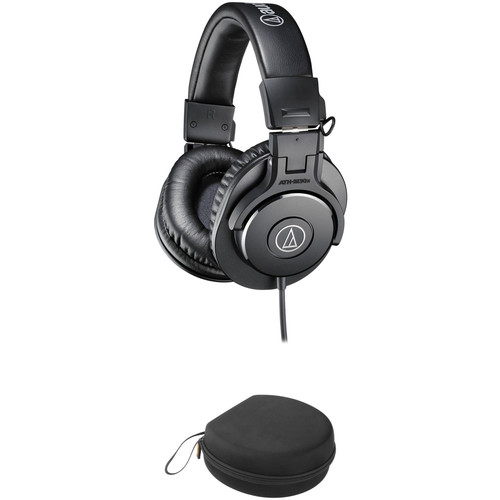 Audio-Technica ATH-M30x Monitor Headphones and Case Kit