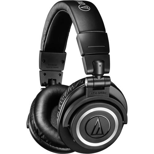 Audio-Technica Consumer ATH-M50xBT Wireless Over-Ear Headphones (Black)