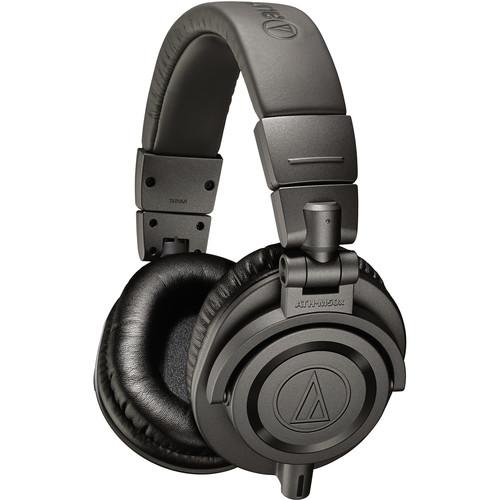 Audio-Technica ATH-M50x Monitor Headphones (Matte Gray)