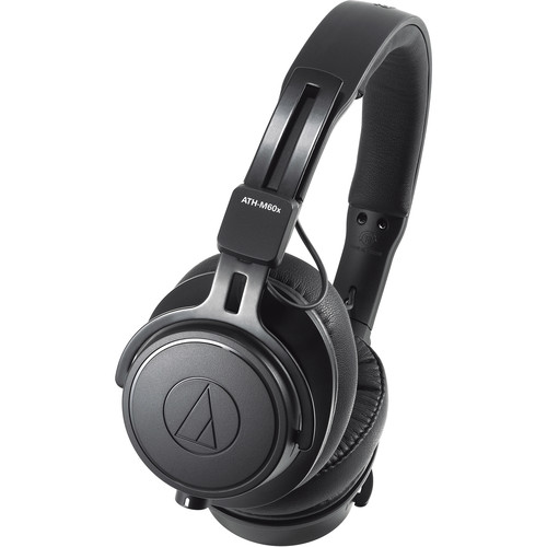 Audio-Technica ATH-M60x Professional Monitor Headphones (Black)