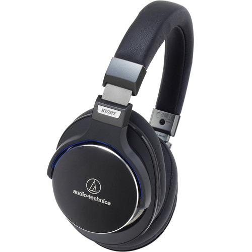 Audio-Technica ATH-MSR7 SonicPro Over-Ear High-Resolution Audio Headphones (Black)
