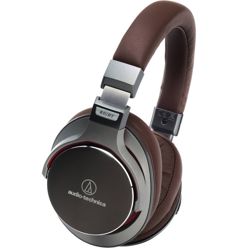 Audio-Technica Consumer ATH-MSR7 SonicPro Over-Ear High-Resolution Audio Headphones (Gun Metal)