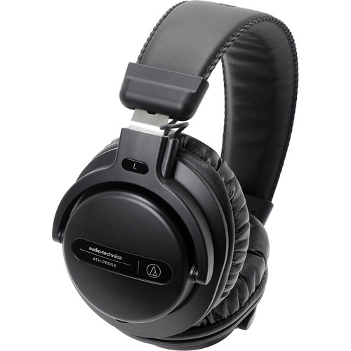 Audio-Technica Consumer ATH-PRO5X Professional Over-Ear DJ Monitor Headphones (Black)