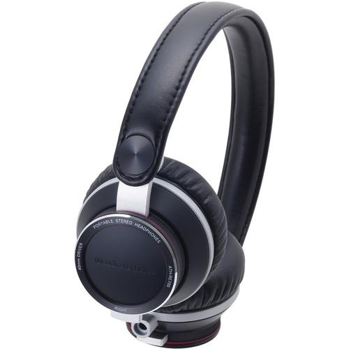 Audio-Technica ATH-RE700 High-Fidelity Audiophile On-Ear Headphones (Black)
