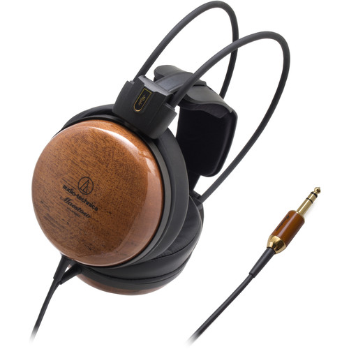Audio-Technica Consumer ATH-W1000Z Audiophile Wooden Closed-Back Headphones