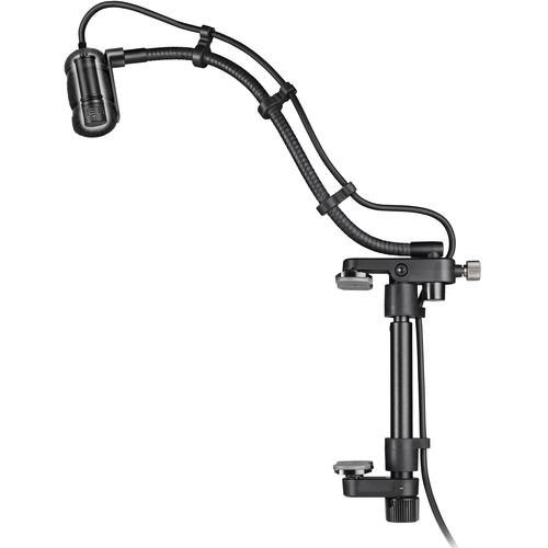 "Audio-Technica ATM350GL Cardioid Condenser Instrument Microphone with Guitar Mounting System (9"" Gooseneck)"