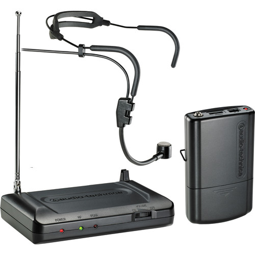 Audio-Technica Consumer ATR7100H VHF Wireless Headworn Microphone Set - Band T3