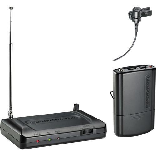 Audio-Technica Consumer ATR7100L VHF Wireless Lavalier Set - Band T8