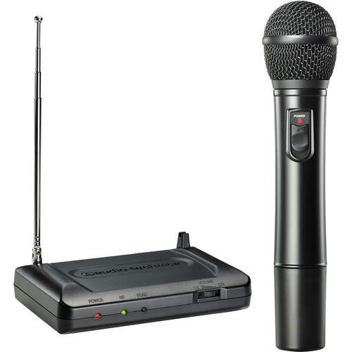 Audio-Technica Consumer ATR7200 VHF Wireless Handheld Microphone Set - Band T2