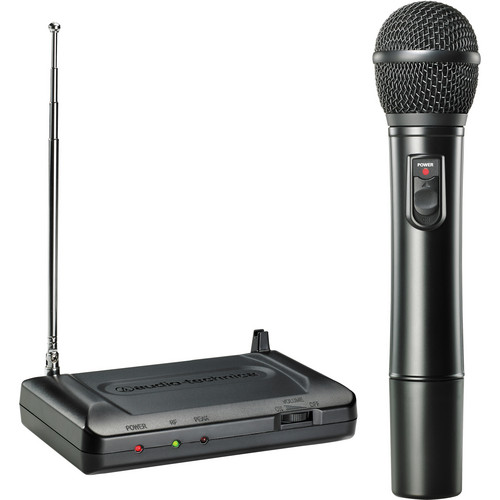 Audio-Technica Consumer ATR7200 VHF Wireless Handheld Microphone Set - Band T3