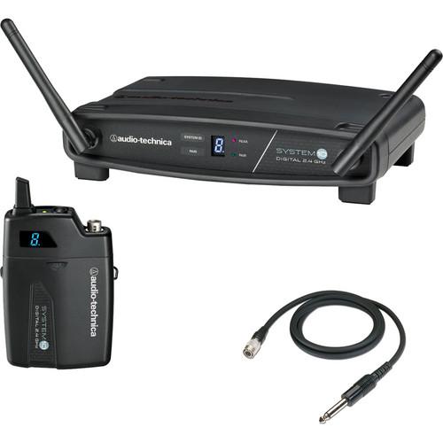 Audio-Technica ATW-1101/G System 10 Digital Wireless Guitar (2.4 GHz)