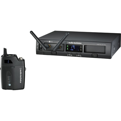Audio-Technica ATW-1301 System 10 PRO Rack-Mount Digital UniPak Transmitter System (2.4 GHz)