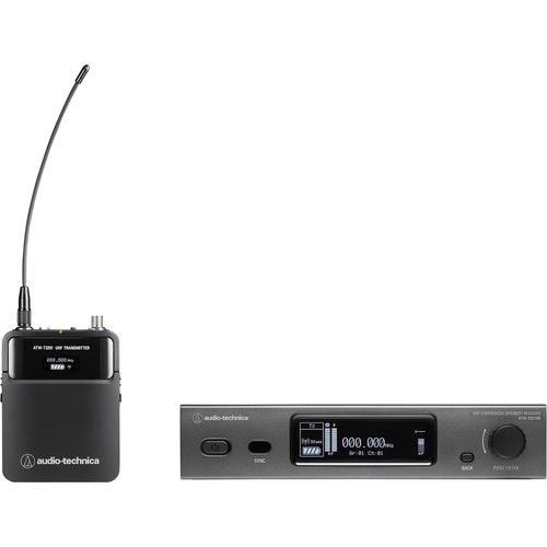 Audio-Technica ATW-3211N 3000 Series Network Bodypack Wireless Microphone System with No Mic (DE2: 470 to 530 MHz)