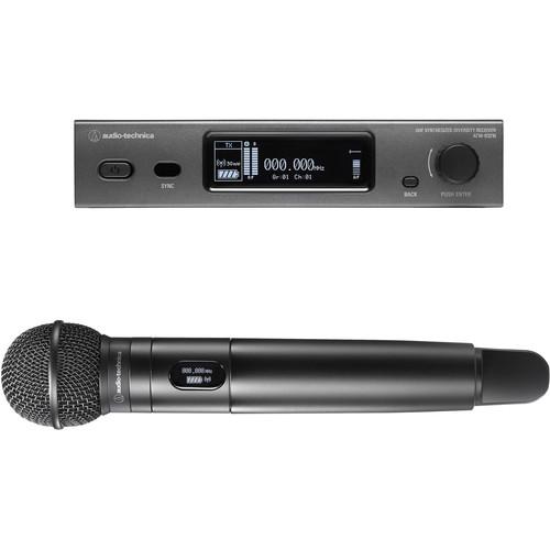 Audio-Technica ATW-3212/C510 3000 Series Wireless Handheld Microphone System with ATW-C510 Capsule (DE2: 470 to 530 MHz)
