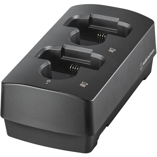 Audio-Technica ATW-CHG3N Networked Two-Bay Smart Charging Dock