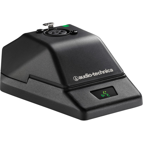 Audio-Technica ATW-T1007 System 10 Wireless Gooseneck Base Transmitter with No Mic (2.4 GHz)