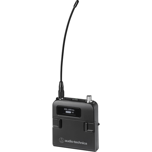 Audio-Technica ATW-T5201EF2 5000 Series Third Generation Bodypack Transmitter (EF2: 580 to 608 MHz and 653 to 663 MHz)