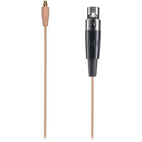 Audio-Technica BPCB-CT4-TH Detachable Cable with TA4F Connector for Shure Wireless Systems (Beige)