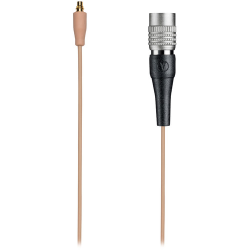 Audio-Technica BPCB-CW-TH Detachable Cable with Locking 4-Pin Connector for Audio-Technica Wireless Systems (Beige)