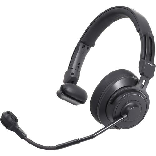 Audio-Technica BPHS2S Single-Ear Broadcast Headset with Hypercardioid Dynamic Boom Mic (Unterminated)