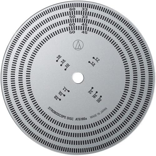 Audio-Technica Consumer AT6180a Stroboscope Disc