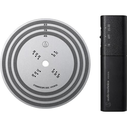 Audio-Technica Consumer AT6181DL Stroboscope Disc & Quartz Strobe Light