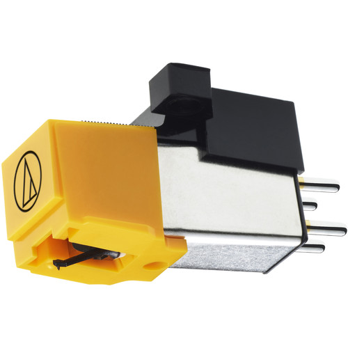 """Audio-Technica Consumer AT91 Conical Phonograph Cartridge for 1/2"""" Mount Turntables (Reinforced ABS Cantilever)"""