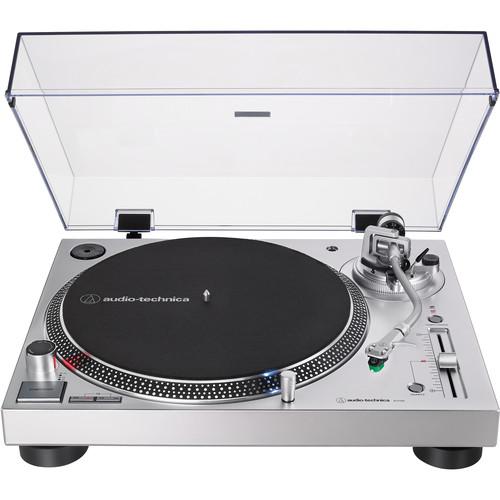 Audio-Technica Consumer AT-LP120XUSB Stereo Turntable (Silver)