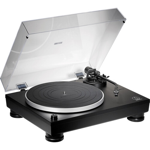 Audio-Technica Consumer AT-LP5X Fully Manual Direct-Drive Analog Turntable with USB (Matte Black)